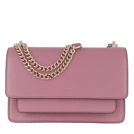 DKNY  Umhängetasche  -  Bryant Park Chain Flap Crossbody Bag Canyon Rose  - in rosa  -  Umhängetasche für Damen braun