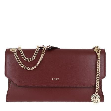 DKNY  Umhängetasche  -  Chain Sutton Bryant Clutch Blood Red  - in rot  -  Umhängetasche für Damen braun