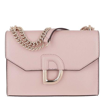 DKNY  Umhängetasche  -  Flap Shoulder Bag Cashmere  - in rosa  -  Umhängetasche für Damen braun