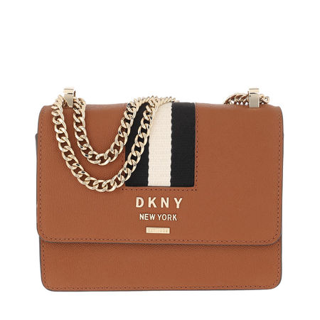 DKNY  Umhängetasche  -  Liza Flap Shoulder Bag Caramel  - in cognac  -  Umhängetasche für Damen braun