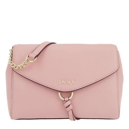 DKNY  Umhängetasche - Lola Flap Crossbody Cashmere - in rosa - für Damen