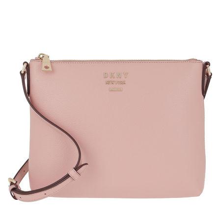 DKNY  Umhängetasche - Whitney Flat Crossbody Cashmere - in rosa - für Damen braun