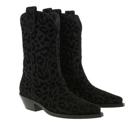 Dolce&Gabbana  Boots  -  Texano Boots Nero  - in schwarz  -  Boots für Damen schwarz