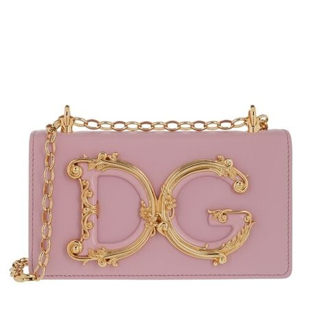Dolce&Gabbana  Crossbody Bags - DG Crossbody Leather - in rosa - für Damen