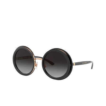 Dolce&Gabbana  Sonnenbrille  -  0DG6127 Black  - in schwarz  -  Sonnenbrille für Damen grau
