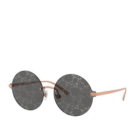 Dolce&Gabbana  Sonnenbrille  -  Women Sunglasses Eternal 0DG2228 Pink Gold  - in roségold  -  Sonnenbrille für Damen grau