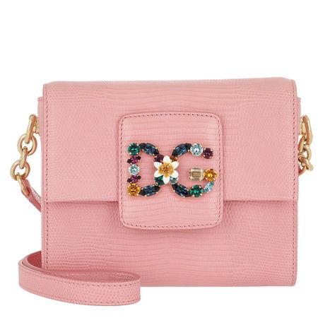 Dolce&Gabbana  Tasche  -  DG Millennials Crossbody Bag Rosa  - in rosa  -  Tasche für Damen rot