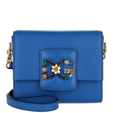 Dolce&Gabbana  Tasche  -  DG Millennials Crossbody Bag Small Blue  - in blau  -  Tasche für Damen blau
