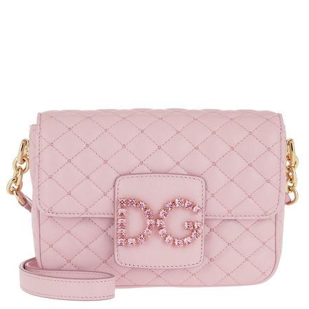 Dolce&Gabbana  Umhängetasche  -  DG Millennials Crossbody Bag Rosa Carne  - in rosa  -  Umhängetasche für Damen braun