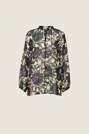 Dorothee Schumacher CHARISMATIC BLOOMING blouse 1 beige