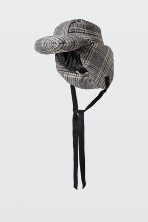 Dorothee Schumacher CHECK IT OUT padded hat grau