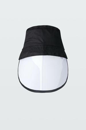 Dorothee Schumacher CLEAR VIEW visor bucket hat grau