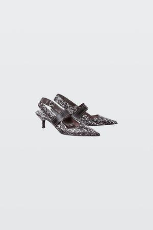 Dorothee Schumacher FLORAL FUSION printed kitten heel (5cm) 36 grau
