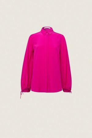 Dorothee Schumacher FLUID VOLUME blouse 1 beige