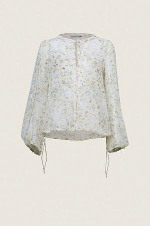 Dorothee Schumacher FRAGILE FLOWERING blouse 2 beige