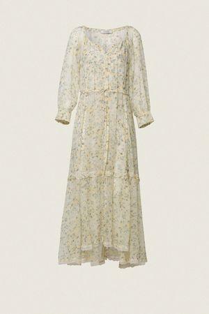 Dorothee Schumacher FRAGILE FLOWERING dress 1 beige