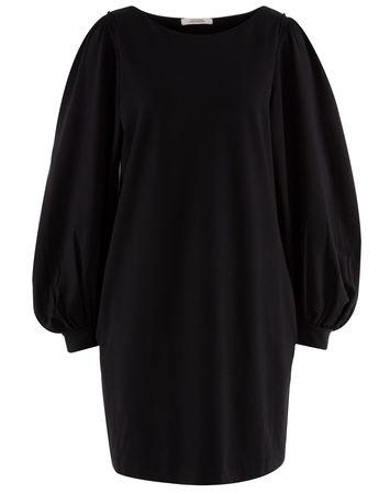 Dorothee Schumacher  - Kleid Essence Shirt aus Jersey schwarz