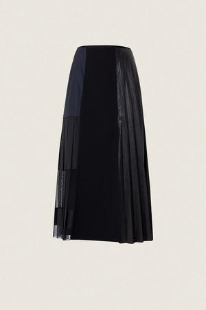 Dorothee Schumacher MODERN GLOSS skirt 2 beige