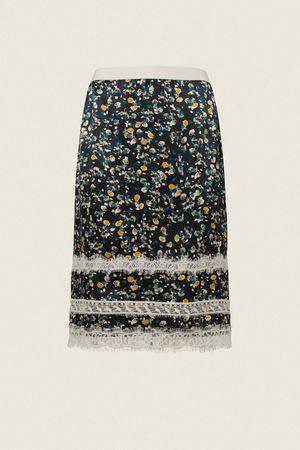 Dorothee Schumacher PASTEL FLOWERING skirt 1 braun