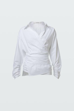 Dorothee Schumacher POPLIN POWER blouse 0 grau