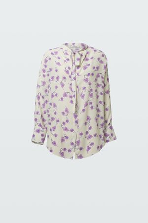 Dorothee Schumacher RADIANT LEAVES blouse 1 grau