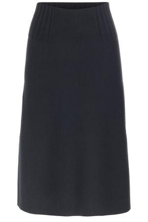 Dorothee Schumacher  Rock mit Schurwolle Magnified Moment Skirt Anthrazit Damen Farbe: anthrazit verfügbare Größe: 36|38|40 grau