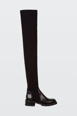 Dorothee Schumacher SMOOTH ATTRACTION overknee sock boot 36 grau