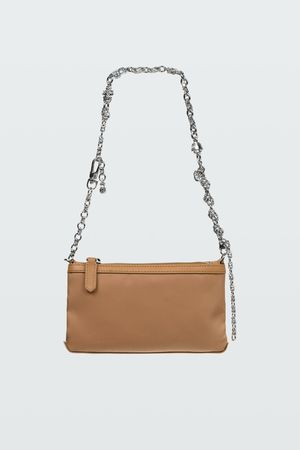 Dorothee Schumacher SPORTS CHIC decorative chain small bag grau