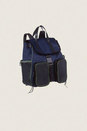 Dorothee Schumacher SPORTY SOPHISTICATION pocket backpack beige