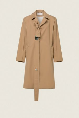 Dorothee Schumacher TAILORED PERFECTION coat 1 beige
