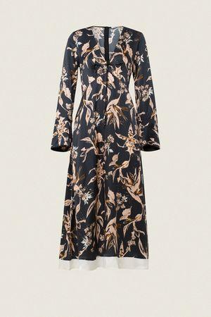 Dorothee Schumacher TAMED FLORALS Dress 2 beige