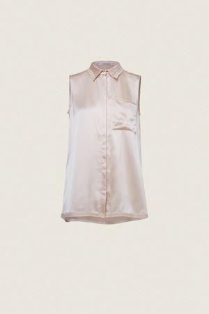Dorothee Schumacher TEASING SOFTNESS sl. blouse 1 braun