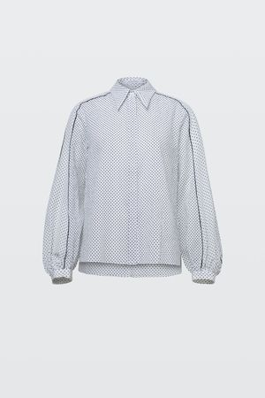 Dorothee Schumacher VIVID DOTS blouse 1 grau
