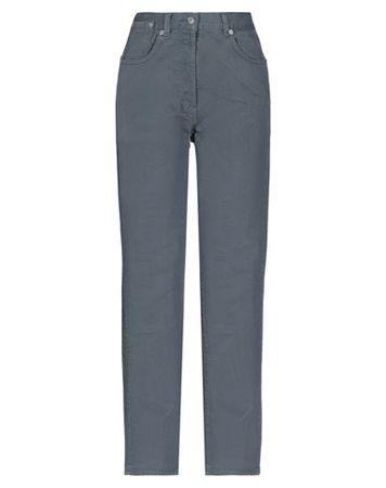 Dries van Noten  26 Damen Grau Hose Baumwolle grau