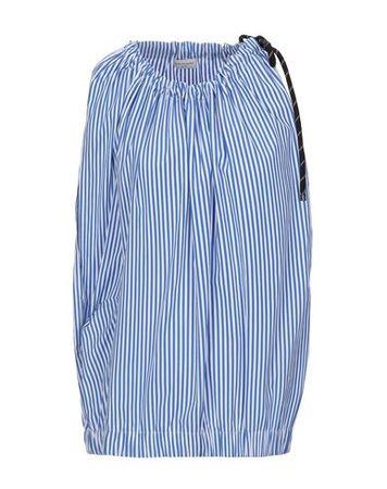 Dries van Noten  34 Damen Schwarz Top Baumwolle blau
