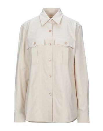 Dries van Noten  38 Damen Beige  Hemd Baumwolle