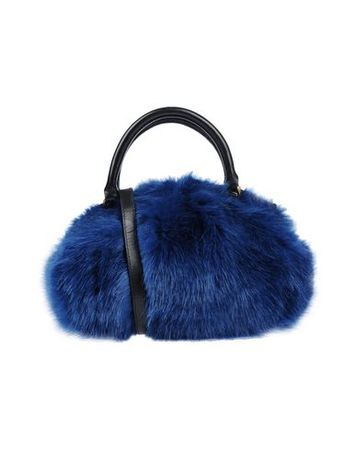 Dries van Noten  -- Damen Blau Handtaschen Gewebefasern, Leder blau