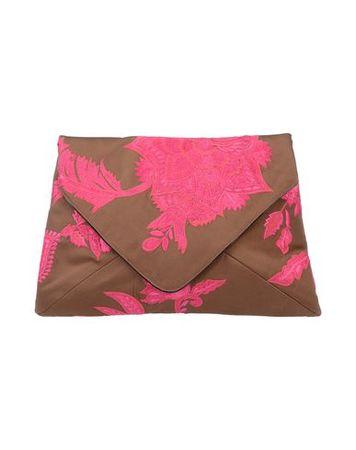 Dries van Noten  -- Damen Braun Handtaschen Gewebefasern braun