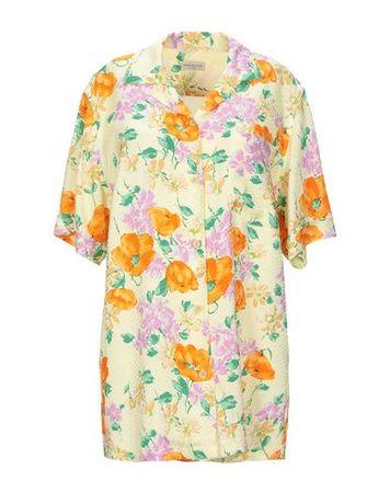 Dries van Noten  Damen Dunkelviolett  Hemd Viskose orange