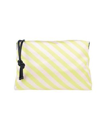 Dries van Noten  -- Damen Gelb Handtaschen Polyester, Leder, Polyamid gruen