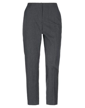 Dries van Noten  Damen Grau Hose Polyester, Wolle