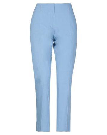 Dries van Noten  Damen Himmelblau Hose Baumwolle blau