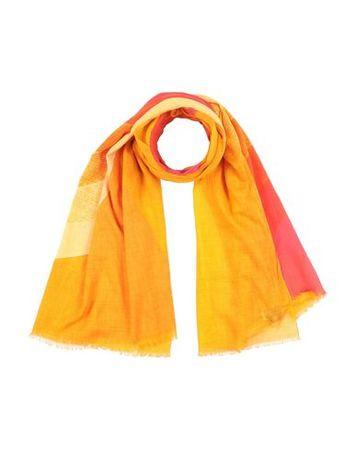 Dries van Noten  -- Damen Orange Stola Baumwolle orange