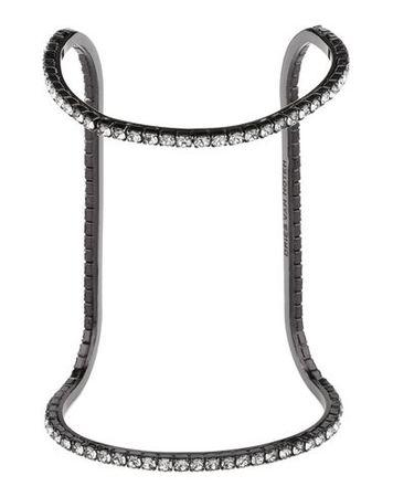 Dries van Noten  -- Damen Schwarz Armband Metall grau