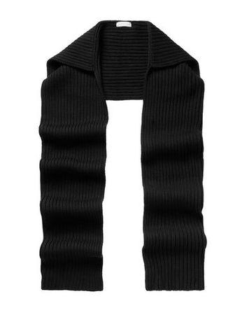 Dries van Noten  -- Damen Schwarz Schal Wolle schwarz