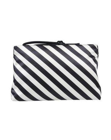 Dries van Noten  -- Damen Weiß Handtaschen Polyester, Leder, Polyamid grau