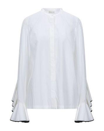 Dries van Noten  Damen Weiß  Hemd Baumwolle