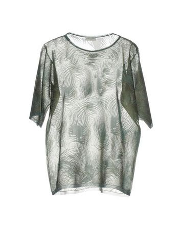 Dries van Noten  L Damen Militärgrün Pullover Polyester