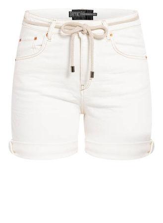 Drykorn  Jeans-Shorts Lap weiss braun