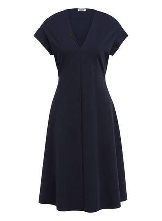 Drykorn  Kleid Basima blau schwarz